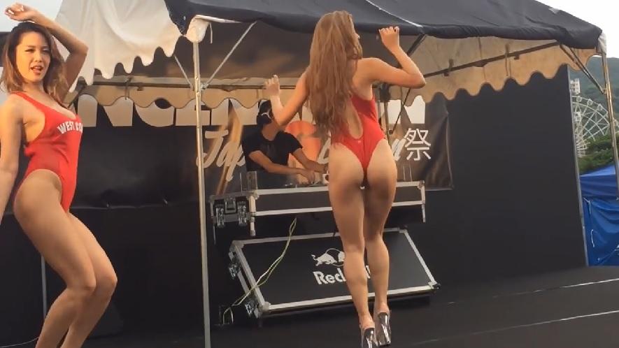 ハイレグ CYBERJAPAN DANCERS